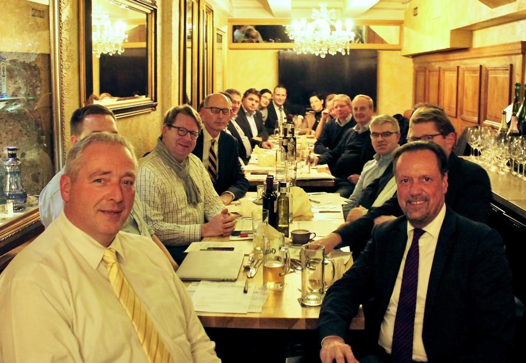 Gemeinsame Sitzung mit Dirk Toepffer MdL in Hannover