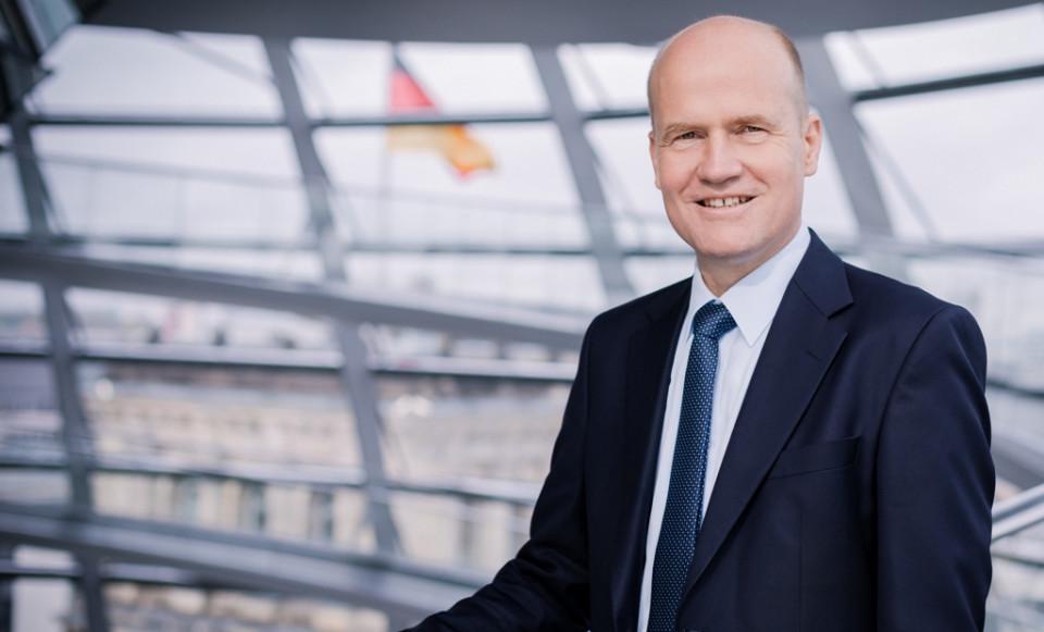 Ralph Brinkhaus MdB ist Gast auf dem Landesparteitag 2019 in Peine (Foto: Tobias Koch).