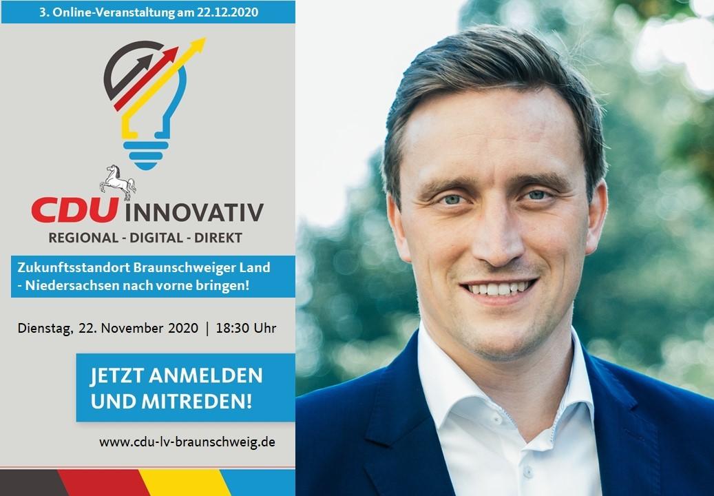 CDU innovativ mit Generalsekretär Sebastian Lechner MdL