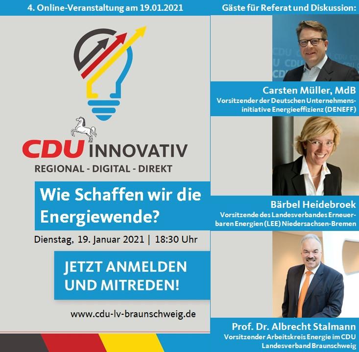 CDU Innovativ zur Energiewende